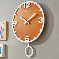 Wall Clocks Nordic Creative Clock Modern Design Guess Women Watch Pow Bedroom Decoration Living Room Silent Quartz WZH310