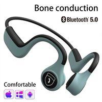 Bluetooth Headphones For Bone Conduction Bluetooth 5.0 Chip Headset Waterproof Sweatproof 6-8 Hours Battery Life