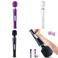 Vibrators Big Toe Vibrator Powerful Body Massage Stick Av for Women G Spot Female Clitoris Stimulator Sex Toys Adults 0927