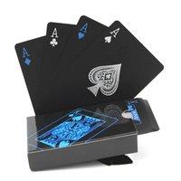 54pcs Carte da gioco Poker Carta di plastica di alta qualità Plastica Impermeabile e Dol Polish Entertainment Board Game Party Favori