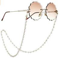 Chic Luxury Handmade Элегантные Жемчужные Очки из бисера Цепочка Женщины Ремешок на ремешок для чтения Eyeglass Цепочки Солнцезащитные Очки H BBYSZZ 850 R2