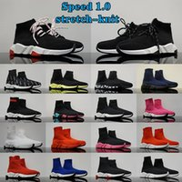 Balenciaga speed trainer Sock 1.0 shoes man woman Walking Shoe Hott Selling Original Paris Lady Black White Red Lace Socks Sports Sneakers Top Boots Clear Sole Sneaker Casual Shoes
