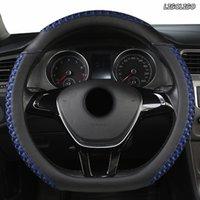Lenkrad deckt Ligoligo-Leder-Auto-Abdeckung für Toyotas Crown S180 S210 ab