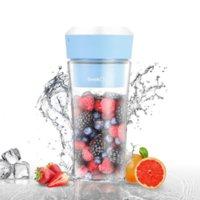 Geek Chef GPB30 10 Oz Portátil Pessoal BPA livre Cordless Lender, Carga USB, 7 Polegadas, Cores Azul Rosa