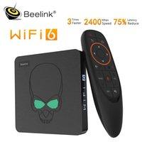 Beelink GT-King Wifi 6 Box Android 9.0 TV Box DDR4 4GB 64GB 1000M LAN SMART NEO TV 5.8G المزدوج WIFI 4K Media Player vs GT-King Pro