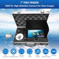 7 Zoll Monitor Fischsucher 1000TVL Unterwasser-Fischereikamera 180 Grad