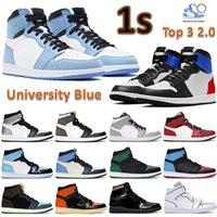 1 OG zapatos de baloncesto para hombre mujer 2019 mejor calidad 1S High Chicago Sports Sneakers con caja US5.5-13