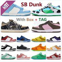 Con caja Classic SB Shadow Dunky Chunky Zapatillas de correr Travis Scotts Dunk Civilist Viotech Plum Pigeon Plataforma Holiday Hombres Especiales Mujer Sneakers Loaw #