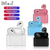 Air I12 Pro Tws Bluetooth Wireless Headphones Waterproof Earphone with Charging Case Sports Handsfree Headset for Apple Xiaomi