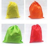 غير المنسوجة تصميم الأزياء حقيبة تخزين السفر داخل الملابس التشطيب حقيبة الرباط حزمة جيب reusable 30x40cm 35x45cm1