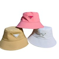 Cubo sombrero Gorros Diseñador Sol Basébol gorra Hombres Mujeres Al Aire Libre Moda Verano Playa Sunhat Pescador Hats 5 Color