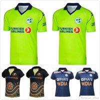 2021 الكريكيت الفانيلة قميص الركبي جيرسي أيرلندا الهند أستراليا الماوري موحدة زيلندا قميص أعلى جودة