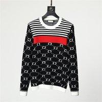 Дизайнерские мужчины женщины свитер вязаный писем вязаные свитера с длинным рукавом кардиган мода повседневная куртка V-образным вырезом трикотажные рубашки