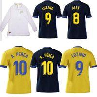 2021 Cadiz Soccer Jerseys 110 aniversario Cádiz CF Top 110 años Camisetas de Fútbol 20 21 Lozano Alex Bodiger Juan Cala 21 22 Camiseta A S