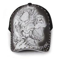 Бейсболка мужская татуировка дракона шляпа шляпа дракона Летние улицы оригинальных иллюстраций напечатаны китайский ветер контрактный тень отходы их профилактика