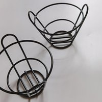 Simple Bar Basket Storage Hotel French Fries Stand Chips Basket Snack Holder Fries Fry Bucket