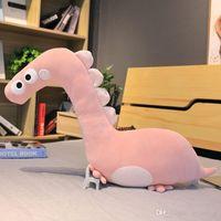 1PC 46-90cm Hot Creative Cartoon Dinosaur Plush Toys Stuffed Animals Dinosaur Pillow Sofa Cushion Dolls Kids Birthday Gift