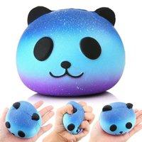 Cinghie del telefono cellulare Charms jumbo lento aumento squamante profumato kawaii squishy spremere giocattolo moda blu panda giocattoli