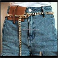 أحزمة قطرة إسقاط التسليم 2021 أزياء السيدات أنيقة الخصر سلسلة معدنية البرية رقيقة حزام المرأة اللباس الديكور البوهيمي حزام ضئيلة 1