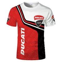 Formula One Ducati Team Car F1 قميص السباق المنافسة الرجال الرياضة في الهواء الطلق المتضخم تي شيرت