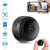 A9 1080 P Mini Kameralar Wifi Akıllı Kablosuz Kamera Ev Güvenlik P2P Kamera Gece Görüş Video Micro Small Cam Hareket Algılama