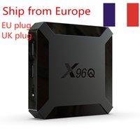(Expédier de l'Europe) X96Q TV Boîte Android 10.0 Allwinner H313 2GB 16 Go Smart TV Box Quad Core 2.4G WiFi