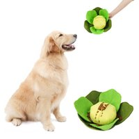 Dog Toys & Chews Food Smell Ball Fun Interactive Plush For Pet Dogs Cats Increases IQ Release Stress Supplies