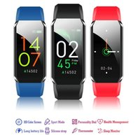 Smart Watch Body Thermometer IP67 Waterproof Fitness Bracelet Heart Rate Monitor Band For Android  Sport Trackers Watches