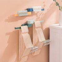 Wall Storage Shelf Holder Brackets Shelving ABS Industrial Steampunk Iron Pipe Home Install Shork Hooks & Rails