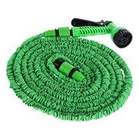 Arrosage Equipements 25 / 50ft Tuyau de jardin extensible Eau flexible pour la conduite de voiture Irrigation avec pistolet à pulvériser