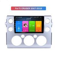 도요타 FJ 크루저 2007-2018 터치 스크린 네비게이션 라디오에 대한 9 인치 안드로이드 10 자동차 DVD 플레이어 GPS
