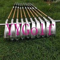 Kompletter Satz von Clubs 10pcs Beres S-07 Golf Irons 4-Sterne 4-11As mit R / S-Stahl- / Graphitwellen einschließlich Kopfkoos DHL