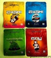 Borsa di imballaggio di alta qualità nuova 3 design Zu_shi con cerniera impermeabile con cerniera a prova di bambino olosing di plastica odore di plastica