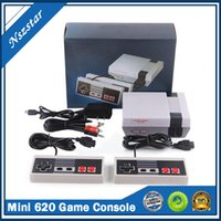 클래식 미니 620 게임 콘솔 레트로 게임 NES 컨트롤러 TV 출력 비디오 게임 어린이 선물 어린 시절 기억