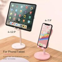 Cell Phone Mounts & Holders Mobile Accessories Holder Stand Desktop Metal Material For IPad Huawei Tablet Laptop