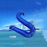 Watering Equipments Anti-freezing Cold-resistant Garden Tube 10m 15m Spring Without Knotting Spiral Water Pipe Cleaning Tool 2 Connectors