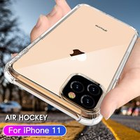 Transparent Shockproof Acrylic Hybrid Armor soft airbag Phone Cases for iPhone 13 12 11 Pro XS Max XR 8 7 6 Plus Samsung S21 S20 Note20 Ultra A72 A52 A32 A12 Redmi Huawei