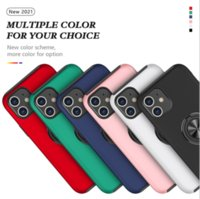 Authemtic rugged sergeant armor phone cases TPU+PC+Metal mobile back cover bracket suliable for iphone 11 12 13 pro max Invisible Kickstand Magnetic Shockproof shell
