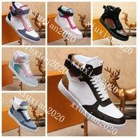 2021 chaussures décontractées pour hommes et femmes, coussinet de peau de mouton atmosphérique et confortable, semelle de doublure en caoutchouc, coutures en cuir, baskets de haut en haut de haut niveau 38 ~ 44