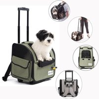 Dog Car Seat Covers Pet Stroller Foldable Rolling Luggage Backpack Travel Cage Trolley Animal House Suitcase Wheel Carrier
