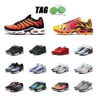Fadeo cromo amarillo brillante tn zapatos corriendo triple mujeres negras hombres Oreo zapatillas de deporte Pimento entrenadores universidad Tamaño deportivo rojo 5.5-11