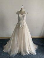 Elegant wedding dress China new cap sleeve bride gown sweetheart neckline beautiful bridal veil Plus Size vintage 3D Floral Applique Lace sweep train custom design