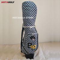 Bolsas de golf 2021 Fashion Women's Bag Octopus Imprimir Clubes completos Conjunto de carro estándar con rodillo de carretilla