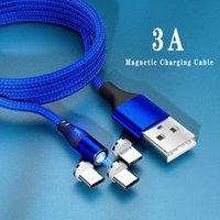 Manyetik Şarj USB Mikro Kablolar Tip C Hızlı Şarj Araba Telefonu Tel
