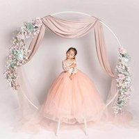 Party Decoration 2021 Metal Circle Round Arch Balloon Flower Iron Ring Background Frame Stand Wedding Mariage Birthday Backdrop Decor