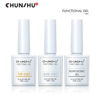 Nail Gel CHUNSHU 15 Ml Matter Top Coat Functie Soak Off LED Base Primer UV Polish Semi Permanant Long Lasting Manicure Salon