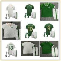 20 21 Irlande Soccer Jerseys Coleman O'shea 2021 Thaïlande Qualité Brady Long McClean Doherty Shirt de football Mens enfants Kit d'enfants