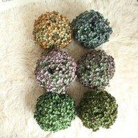 Fleurs décoratives Couronnes Mode Artisanat Article Arbre à balles 5 couleurs Vert Boxwood Événement de mariage Accueil Décoration extérieure