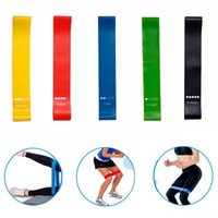 Resistance Bands TPE Rubber Band Portable Women's Yoga Exercise Accessories Outdoor Fitness Equipment Indoor Pilates Training Tool