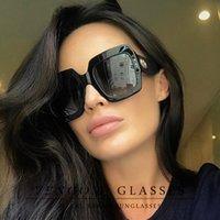 VENGOM European and American fashion Cat Eye Women Oversized Sunglasses Brand Designer Vintage Retro Sun Glasses For Female UV400 Oculos